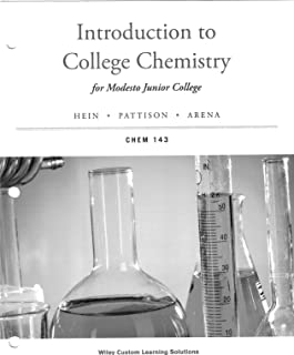 Introduction to College Chemistry for Modesto Junior College CHEM 143