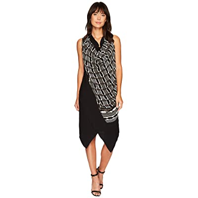 NIC+ZOE City Plaid Dress (Multi) Women