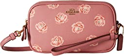 Crossbody Clutch With Floral Print