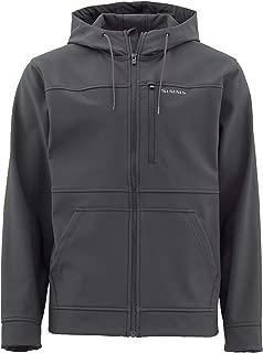 Simms Rogue Fleece Hoody – Men's Water Resistant Hoodie Sweatshirt – Full Front Zipper Hoodie – Zippered Chest Pocket