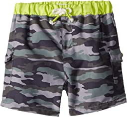 Mud Pie Camo Swim Trunks (Infant/Toddler)