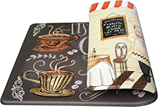Art3d Premium Double-Sided Anti-Fatigue Chef Rug, Anti-Fatigue Comfort Mat. Multi-Purpose Decorative Standing Mat for The Kitchen, Bathroom, Laundry Room or Office, 18