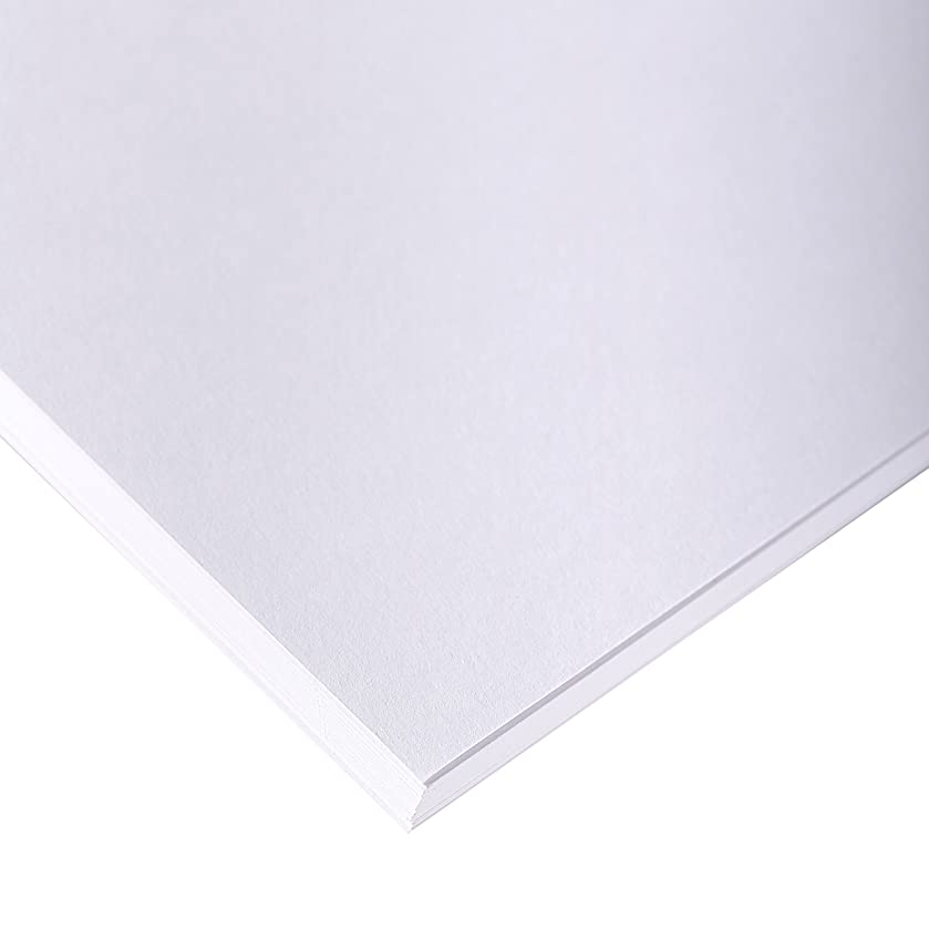 Clairefontaine 50 x 65 cm Drawing Sketch Paper, 70 g, Pack 250 Sheets, White