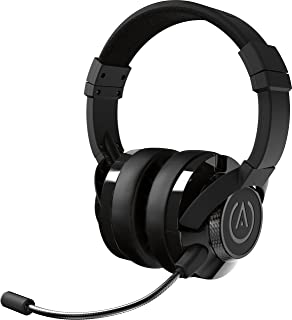 PowerA Fusion Wired Stereo Gaming Headset with MIc for PlayStation 4, Xbox One, Xbox One X, Xbox One S, Xbox 360, Nintendo Switch, PC, Mac, VR, Android, and IOS - Black