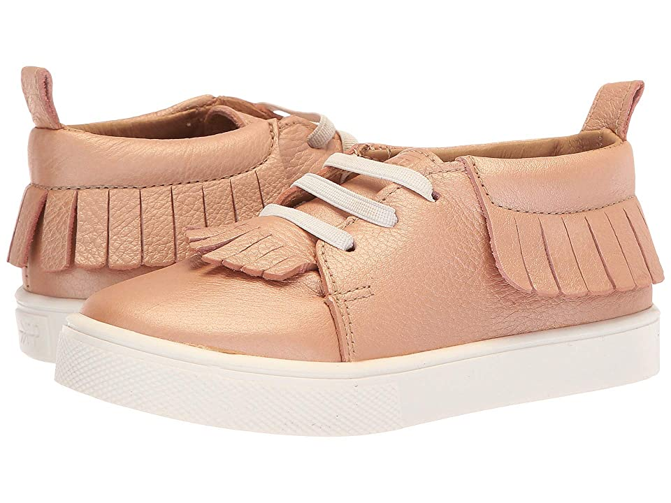 Freshly Picked Sneaker Mocc (Toddler/Little Kid) (Rose Gold) Girls Shoes