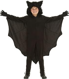 Kid's Fleece Bat Costume Child Fuzzy Flying Bat Costume