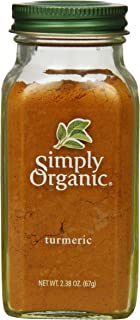 Simply Organic Turmeric Root Ground Certified Organic, 2.38 oz Container