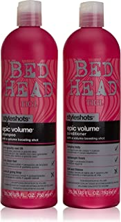 Styleshots by TIGI Bed Head Epic Volume Tween Set - Shampoo 750ml & Conditioner 750ml
