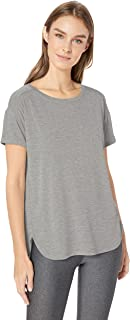 Amazon Essentials Women's Studio Relaxed-Fit Lightweight Crewneck T-Shirt