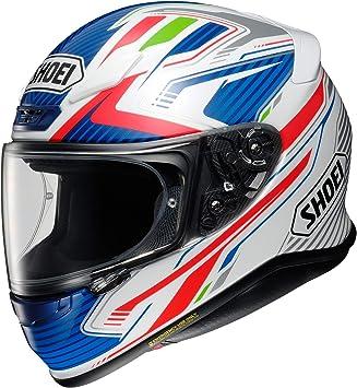 Shoei Nxr Rod Tc 2 Motorcycle Helmet White Blue Red M Auto