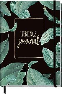 Trendstuff by Häfft Bullet Journal met stippen, A5-formaat, met elastiek, 156 pagina's, notitieboek, gestippeld, dagboek, ...