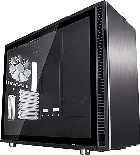 Fractal Design Define R6 USB-C TG Mid Tower Gaming Case - Black/White USB 3.0