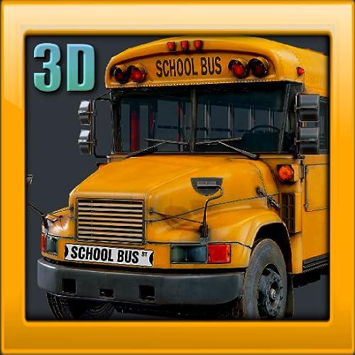 School Bus Driving 3D - Simulator City Traffic