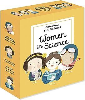 Little People, Big Dreams: Women in Science: 3 Books from the Best-Selling Series! ADA Lovelace - Marie Curie - Amelia Ear...