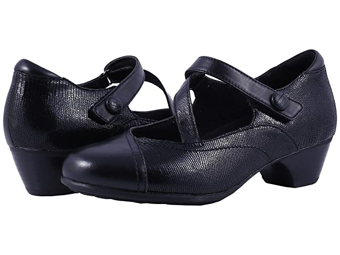 Aravon Portia (Black Multi) Women's Maryjane Shoes