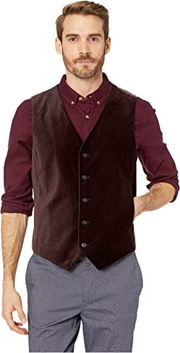 Slim Fit Velvet Suit Vest