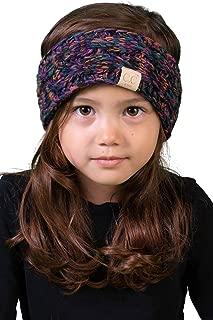 Kids Baby Toddler Knit Fuzzy Lined Head Wrap Headband Ear...