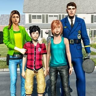 Virtual Police Dad Simulator : Happy Family Games
