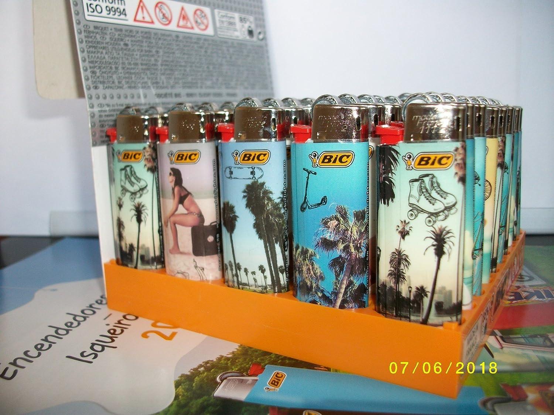 BIC 50 Mini Feuerzeuge j25 Paradiesischer Sommer. Neu B07DL89K76