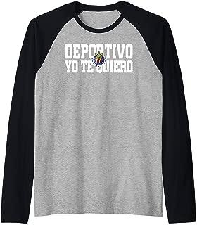 Deportivo Yo Te Quiero Chivas de Guadalajara Raglan Baseball Tee