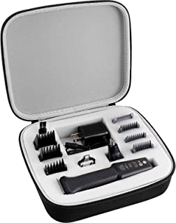 GWCASE Case for Philips Norelco Multigroom All-In-One Series 3000 MG3750, Storage Holder fits for 13 attachment trimmer an...