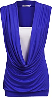 Best sleeveless gathered top Reviews