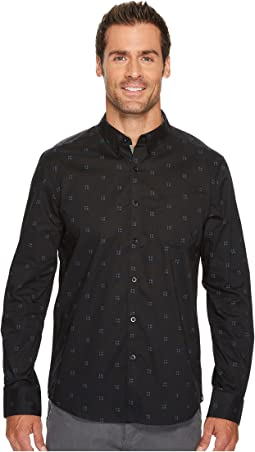 Kenneth Cole Sportswear - Shadowbox Print Shirt