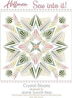 Bali Batiks 1895 Crystal Blooms Quilt Kit Hoffman Fabrics JAKIT-562-Blooms