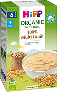 Hipp Organic Baby Cereal 100% Multigrain, 200 g