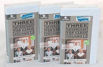 THREE SOVEREIGNS FOR SARAH - VHS - Volumes 1-3 Set
