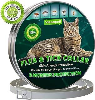 comprar comparacion Collar antipulgas y garrapatas para Gatos, resistente al aqua, protección activa de hasta 8 Meses, 33 centimetros, para qu...