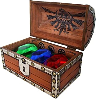 Official Legend of Zelda 3 Rupee Chest Paperweight