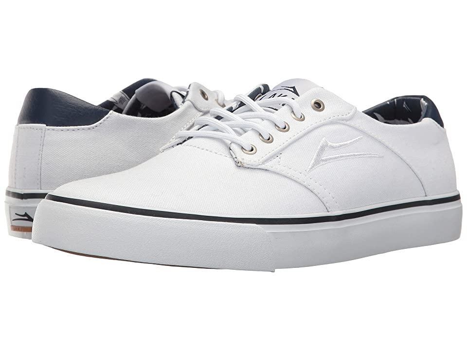 Lakai Porter (White Canvas) Men