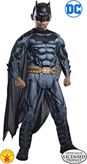 Rubie's Costume DC Superheroes Batman Child Deluxe Costume, Medium