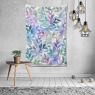 水彩flower Tps2nice फैशन आंतरिक सजावट बहुक्रियाशील बेडरूम व्यक्तित्व उपहार इनडोर दीवार फांसी कक्ष पर्दा उपहार दीवार सजावट