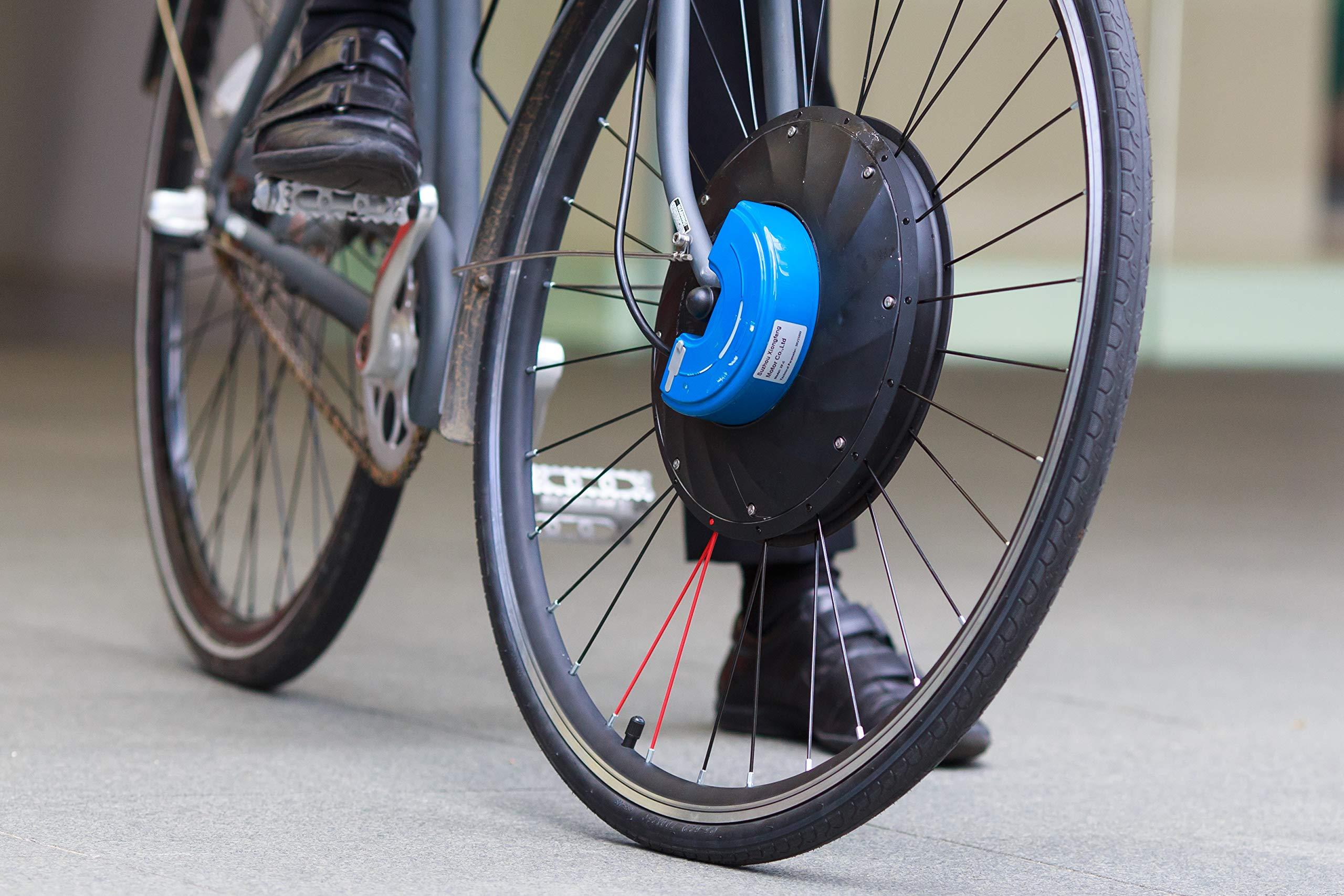 UrbanX Rueda de Bicicleta eléctrica – conocida por Kickstarter – Rueda de Bicicleta de montaña de 26 Pulgadas: Amazon.es: Deportes y aire libre