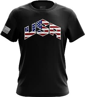 American Flag USA T Shirt