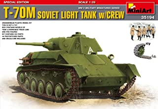 T-70M SOVIET LIGHT TANK w/CREW. SPECIAL EDITION 1/35 MINIART 35194
