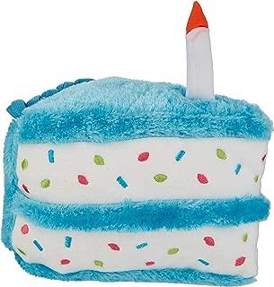 ZippyPaws - Birthday Cake Squeaky Dog Toy with Soft Stuffing