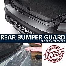 ZForce Rear Bumper Trunk Applique Paint Protection Clear Bra Film for 2016 Subaru WRX STi Sedan