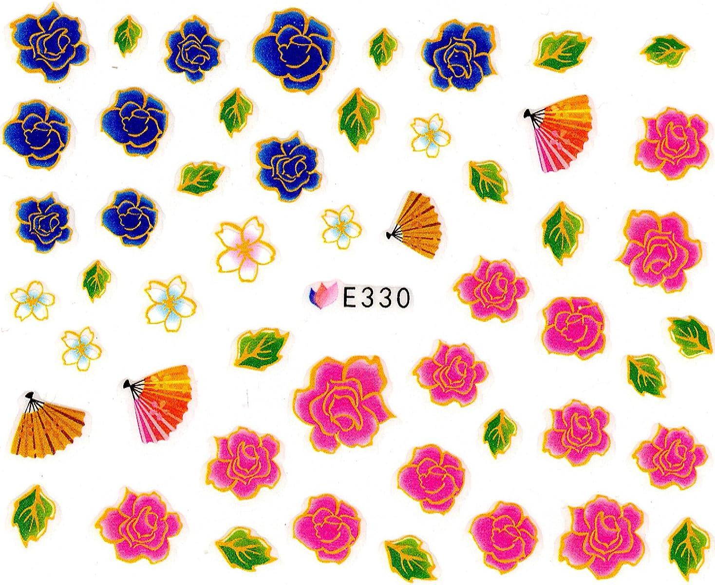 毎週不純取り組むネイルシール 花 フラワー 選べる10種類 (03-T27)