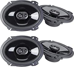 "$199 » 2 Pairs of Rockford Fosgate Punch P1683 260W Peak (130W Rms) 6"" X 8"" Punch Series 3-Way Full Range Coaxial Speakers - 4 Sp..."