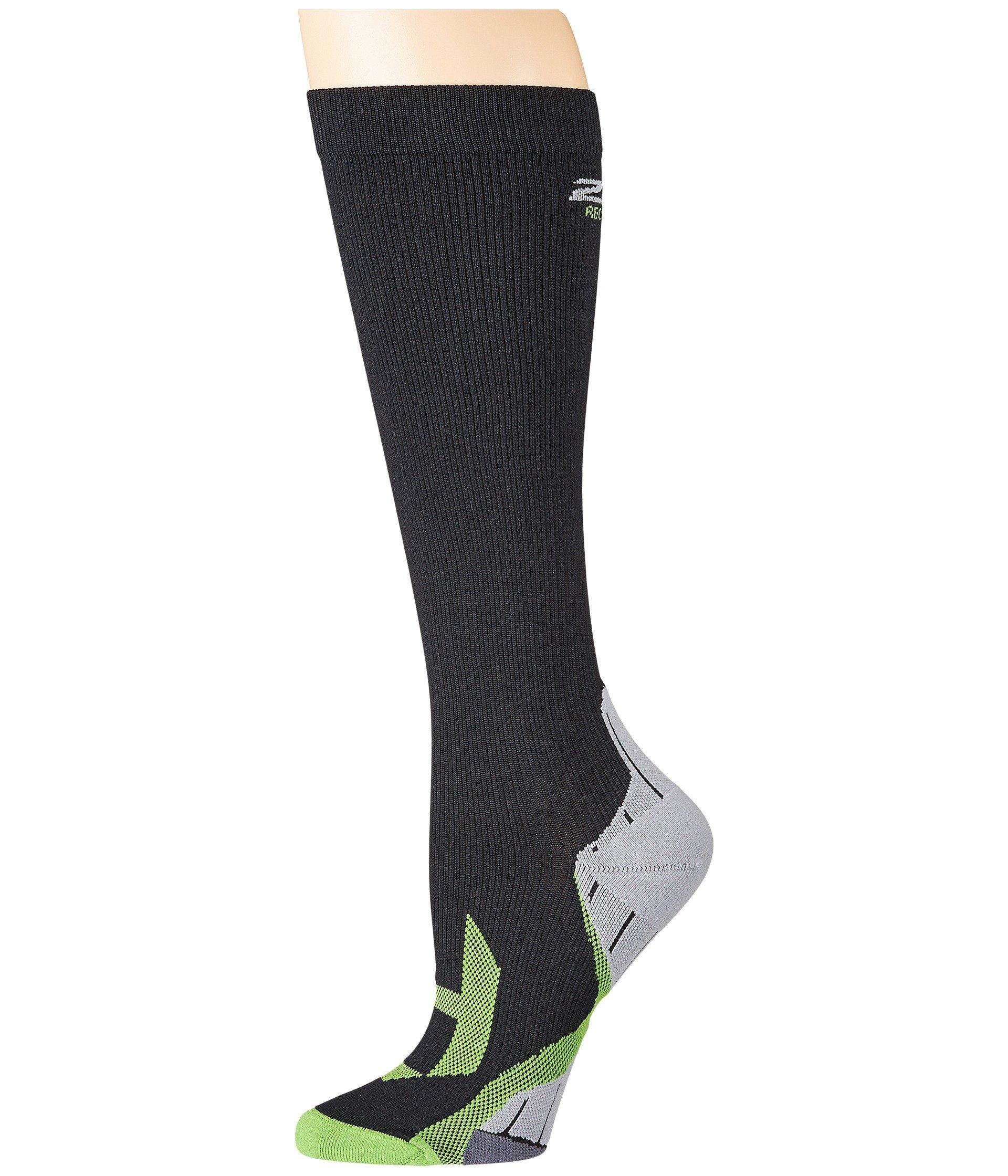 Compression 2xu Recovery Black grey Socks AqTwCq