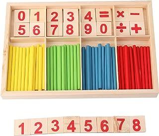 Digital Style Preschool Teaching Tool Math Number Counting Sticks Educational Toys
