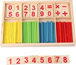 JIAKAI Digital Style Preschool Teaching Tool Math Number Counting Sticks Educational Toys