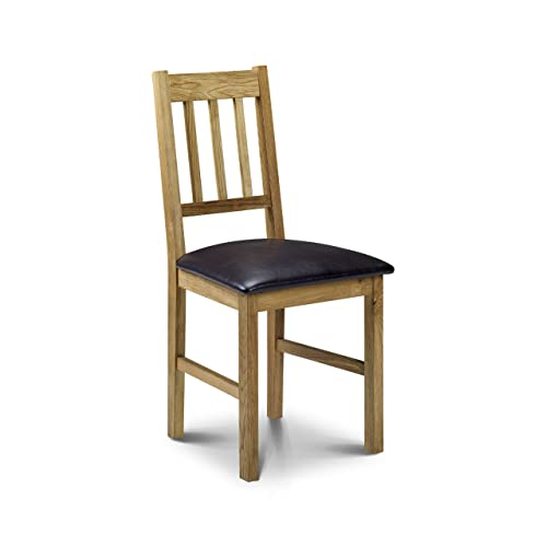 Solid Oak Dining Chairs Amazon Co Uk