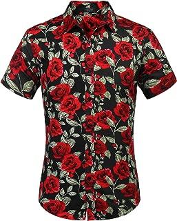 Best rose print dress shirt Reviews