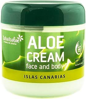 comprar comparacion Tabaiba Aloe Vera Crema, Crema Hidratante Facial y Corporal con Aloe Vera, 300 ml