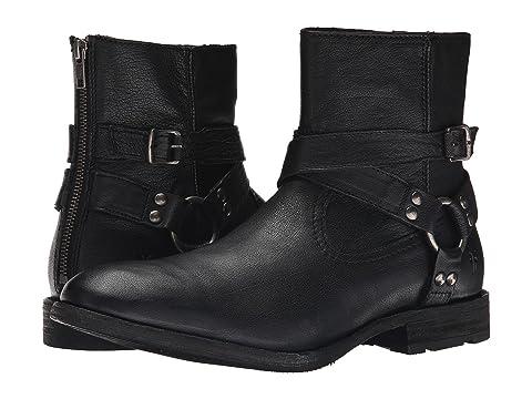 PAIR. Black Buffalo Leather. Dark Brown Buffalo Leather
