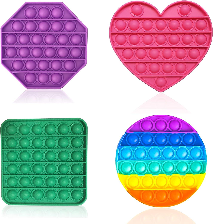 Topics on TV True Fresh Push Pop Max 43% OFF Bubble Fidget Sensory P Toy